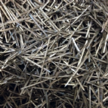 Metal Fibre Needles - for addition to Castable Refractory